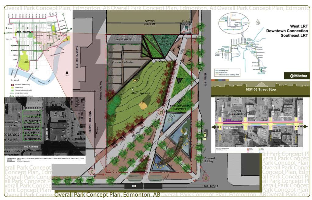 Scott Property Community Park Concept Layout