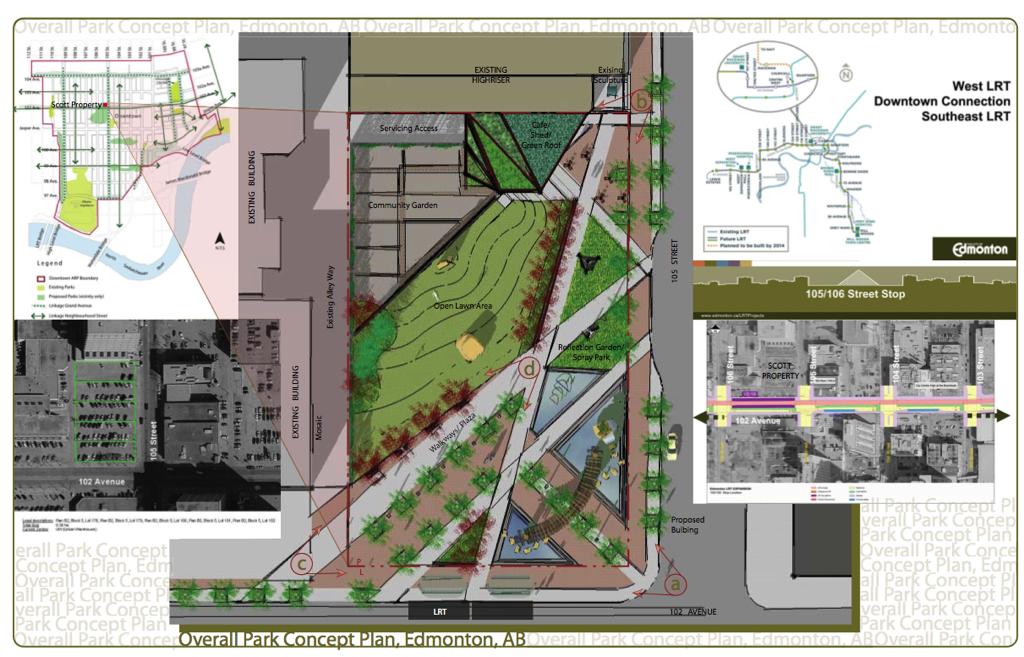 Scott Property Community Park Concept Layout